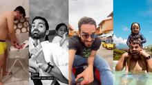 Marcus Ornellas y otros papás famosos muestran a diario cómo se derriten de amor por sus hijos
