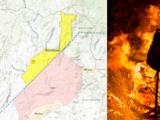 El condado de Madera declara estado de emergencia local por impacto del incendio River