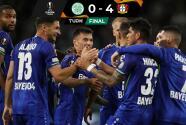 Resumen | Bayer Leverkusen aplastó al Celtic en Escocia