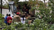 Zeta cobra la primera vida en Georgia: un hombre muere tras caer un árbol sobre su casa