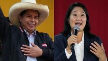 Elecciones en Perú: Castillo mantiene su ventaja frente a Fujimori, quien pide anular 200,000 votos