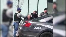 Así fue el arresto del hombre que mató a nueve peatones en el centro de Toronto