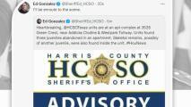 Oficiales investigan el hallazgo de restos humanos al suroeste de Houston