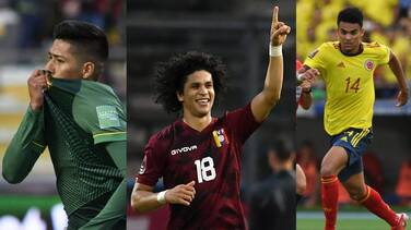 Bolivia y Venezuela sorprendieron; Colombia igualó con Brasil