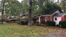 Estos fueron los daños causados por Zeta a su paso por Carolina del Norte