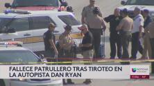 Fallece patrullero tras tiroteo en la autopista Dan Ryan