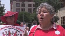 Miles de personas en San Antonio protestan contra la separación de familias en la frontera