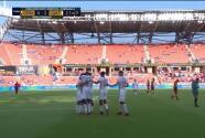 ¡Cerca del ángulo! Qatar celebra el 0-2 con remate colocado de Afif