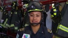 Firefighter breastfeeds abandoned baby