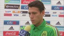 """Héctor Moreno: """"Nos encantaría que los 90 minutos se nos apoyara de igual manera"""""""
