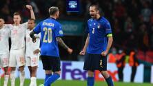 ¡Estadísticas! Antecedentes de juegos entre Italia e Inglaterra