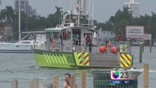 Continúa la búsqueda de joven que cayó al mar en Miami Beach