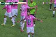 ¡Gran gol del 'Pocho' Guzmán para el 1-1 y el partido se calienta!