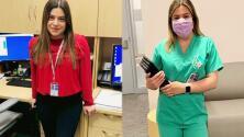 Esta latina dedica horas de su larga jornada a comunicar a pacientes con coronavirus con sus familias