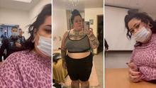 """(Video) """"Hay lugares para todo"""": La Bronca ante cómo vestía 'Fat Trophy Wife' en el aeropuerto"""