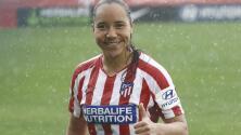 Charlyn Corral marca gol en triunfo de Atlético de Madrid