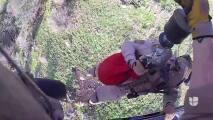 Así fue el rescate de un inmigrante guatemalteco en la frontera de Arizona