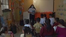 Así funciona un programa para educar a niños inmigrantes en México que están cerca de la frontera