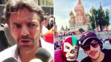 Eugenio Derbez se divirtió en grande en su viaje por Rusia (y hasta convivió con la Selección Mexicana)