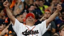 Así se preparan en Houston para el encuentro entre los Astros y los Bravos de Atlanta por la Serie Mundial