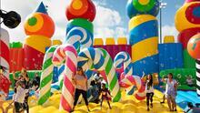 Llega a Houston 'The Big Bounce America', el parque inflable más grande del mundo