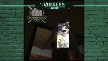 ¡Emotivo! Víctor González llamó a su familia en pleno festejo de Dodgers