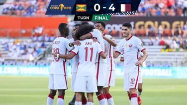 Qatar golea a Granada y se acerca a los Cuartos de Copa Oro