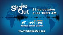 Participa en el simulacro Great ShakeOut de California para protegerse contra un terremoto