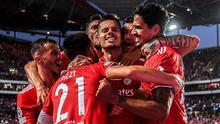 Benfica se lleva el partido de ida ante el PSV del 'Guti'