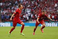 Dinamarca y Escocia chocan en las eliminatorias de la UEFA