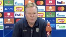 Koeman admite que ante Dinamo se juegan su futuro en la Champions
