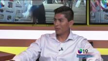 """Ángel Preciado, listo para la carrera """"Eppie's"""""""