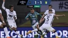 Pumas 1-1 León | El zarpazo del 'Puma' Gigliotti hiere a los auriazules