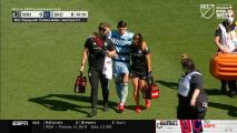 Alan Pulido se luce con dos túneles, pero se va lesionado del partido