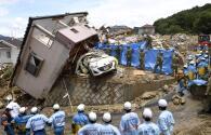 Más de un centenar de muertos en Japón por inundaciones y aluviones tras las lluvias