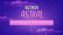 Agenda astral: semana del 30 de agosto al 5 de septiembre