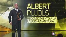 Albert Pujols, premio Reconocimiento a la Labor Humanitaria