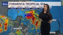 Tormenta tropical IDA: pronostican fuerte oleaje y peligrosas corrientes en playas del sur de Texas