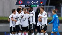 ¡Goleada! Alemania vence a Islandia como visitante