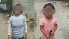 """""""Mi abuelita agarró el cuchillo"""": el llanto de unas niñas cuyo rostro fue quemado"""