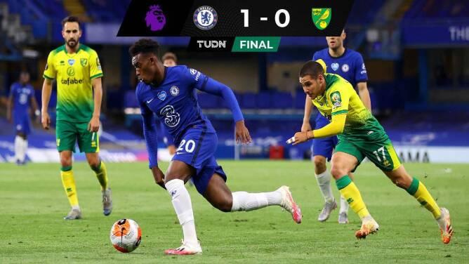 Chelsea sufre, vence al Norwich y sigue soñando con Champions