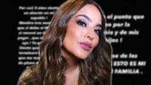 """""""Déjenme en paz"""": el desesperado llamado de Mayeli Alonso asegurando que teme por su vida y la de su familia"""