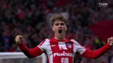 ¡Quiere ser el héroe! Griezmann hace doblete y el 2-2 del Atlético