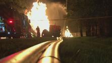 Un incendio en el área de Friendswood deja a decenas de residentes sin suministro eléctrico