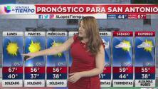 Inicio de semana con condiciones soleadas en San Antonio