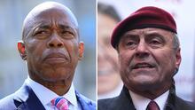 Cómo y dónde ver el último debate entre Eric Adams y Curtis Sliwa, candidatos a la alcaldía de NYC