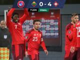 Resumen | Suiza golea a Lituania, amarra repechaje y va por Italia