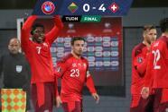 Resumen   Suiza golea a Lituania, amarra repechaje y va por Italia
