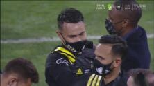 Lucas Zelarayán, entre lágrimas tras conseguir el título de la MLS