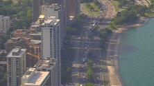 Advierten de alta congestión vehicular en las vías principales de Chicago y sus alrededores